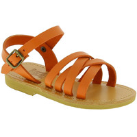 Schoenen Meisjes Sandalen / Open schoenen Attica Sandals HEBE CALF ORANGE arancio