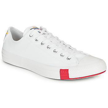 Schoenen Lage sneakers Converse CHUCK TAYLOR ALL STAR LOGO STACKED - OX Wit