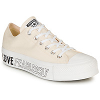 Schoenen Dames Lage sneakers Converse CHUCK TAYLOR ALL STAR LIFT - OX Beige
