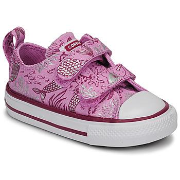 Schoenen Meisjes Lage sneakers Converse CHUCK TAYLOR ALL STAR 2V UNDERWATER PARTY Roze