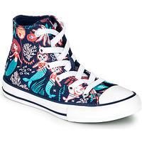 Schoenen Meisjes Hoge sneakers Converse CHUCK TAYLOR ALL STAR UNDERWATER PARTY Blauw