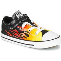 Schoenen Meisjes Lage sneakers Converse CHUCK TAYLOR ALL STAR 1V - OX  zwart / Geel