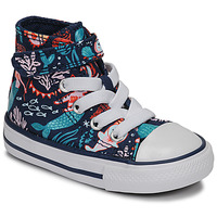 Schoenen Meisjes Hoge sneakers Converse CHUCK TAYLOR ALL STAR 1V UNDERWATER PARTY Blauw