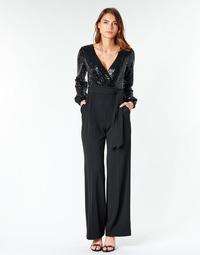 Textiel Dames Jumpsuites / Tuinbroeken Lauren Ralph Lauren  Zwart