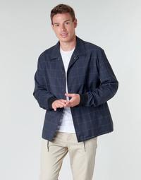 Textiel Heren Wind jackets HUGO UROQ2022 Marine