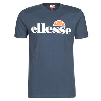 Textiel Heren T-shirts korte mouwen Ellesse SL  PRADO Marine