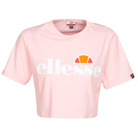 Textiel Dames T-shirts korte mouwen Ellesse ALBERTA Roze