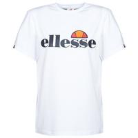 Textiel Dames T-shirts korte mouwen Ellesse ALBANY Wit