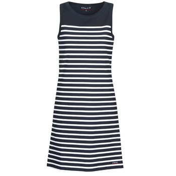 Textiel Dames Korte jurken Armor Lux YITINE Marine / Wit