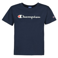 Textiel Dames T-shirts korte mouwen Champion KOOLATE Marine