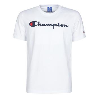 Textiel Heren T-shirts korte mouwen Champion 214194 Wit