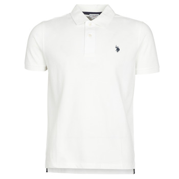 Textiel Heren Polo's korte mouwen U.S Polo Assn. INSTITUTIONAL POLO Wit