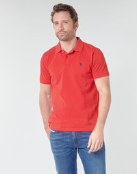 Textiel Heren Polo's korte mouwen U.S Polo Assn. INSTITUTIONAL POLO Rood