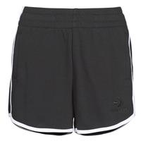 Textiel Dames Korte broeken / Bermuda's Converse TWISTED VARSITY SHORT Zwart
