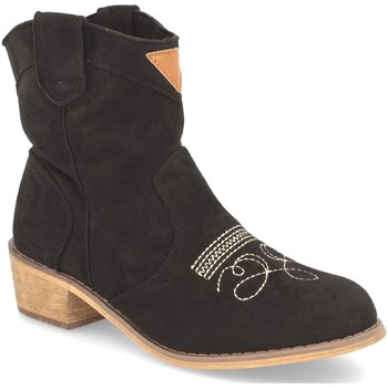 Schoenen Dames Enkellaarzen Benini AB62 Negro