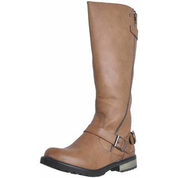 Schoenen Dames Hoge laarzen MTNG 55682 Bruin