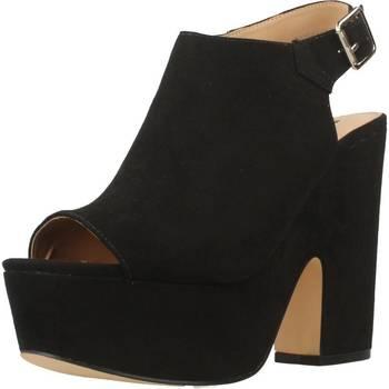 Schoenen Dames Sandalen / Open schoenen Be Different Be Yellow SWALLOW Zwart