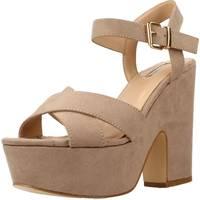 Schoenen Dames Sandalen / Open schoenen Be Different Be Yellow OWL Bruin
