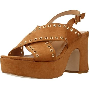 Schoenen Dames Sandalen / Open schoenen Be Different Be Yellow SWAN Bruin