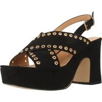 Schoenen Dames Sandalen / Open schoenen Be Different Be Yellow SWAN Zwart