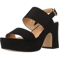 Schoenen Dames Sandalen / Open schoenen Be Different Be Yellow SONGBIRD Zwart