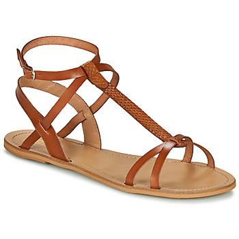 Schoenen Dames Sandalen / Open schoenen So Size BEALO  camel