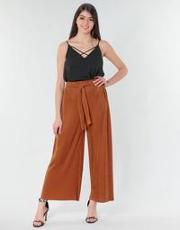 Textiel Dames Losse broeken / Harembroeken Moony Mood MERONAR Rouille
