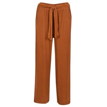 Textiel Dames Losse broeken / Harembroeken Moony Mood 93114-ROUILLE Rouille