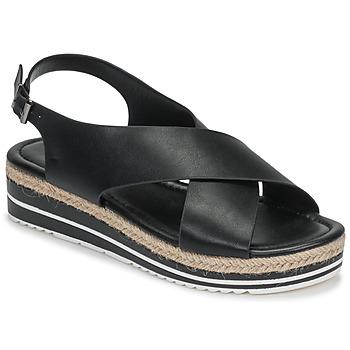 Schoenen Dames Sandalen / Open schoenen Moony Mood MELANIE Zwart