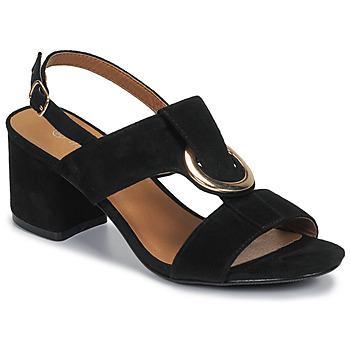 Schoenen Dames Sandalen / Open schoenen Moony Mood MANY Zwart