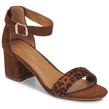 Schoenen Dames Sandalen / Open schoenen Moony Mood MEDIO Leopard