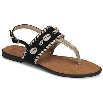 Schoenen Dames Slippers Moony Mood MARISE Zwart
