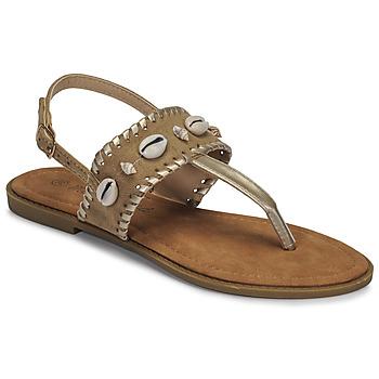 Schoenen Dames Slippers Moony Mood MARISE Beige