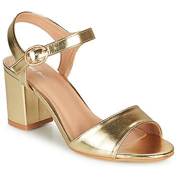 Schoenen Dames Sandalen / Open schoenen Moony Mood MEGANE Goud