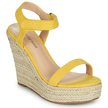 Schoenen Dames Sandalen / Open schoenen Moony Mood MARTA Geel