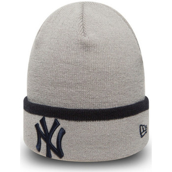 Accessoires Heren Muts New-Era Team cuff knit neyyan Grijs