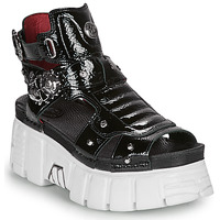 Schoenen Dames Sandalen / Open schoenen New Rock LIYA Zwart / Wit