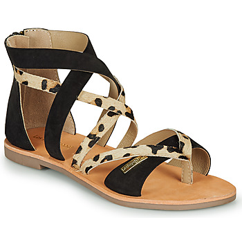 Schoenen Dames Sandalen / Open schoenen Les Tropéziennes par M Belarbi POPS Zwart / Leopard