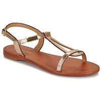 Schoenen Dames Sandalen / Open schoenen Les Tropéziennes par M Belarbi HAMAT Goud / Serpent