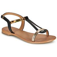 Schoenen Dames Sandalen / Open schoenen Les Tropéziennes par M Belarbi HAMAT Zwart / Leopard