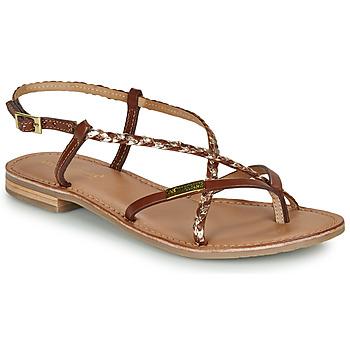 Schoenen Dames Sandalen / Open schoenen Les Tropéziennes par M Belarbi MONATRES Tan / Goud