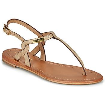 Schoenen Dames Sandalen / Open schoenen Les Tropéziennes par M Belarbi BILLY Goud / Irisé