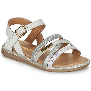 Schoenen Meisjes Sandalen / Open schoenen Les Tropéziennes par M Belarbi INAYA Wit