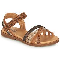 Schoenen Meisjes Sandalen / Open schoenen Bullboxer ELYSA Brown