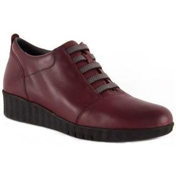 Schoenen Dames Derby Barritas Zapatos Zapatos casual de piel con cuña by Barritas Autres