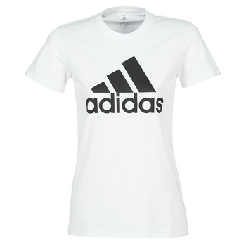 Textiel Dames T-shirts korte mouwen adidas Performance BOS CO TEE Wit