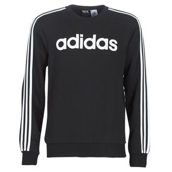 Textiel Heren Sweaters / Sweatshirts adidas Performance E 3S CREW FL Zwart