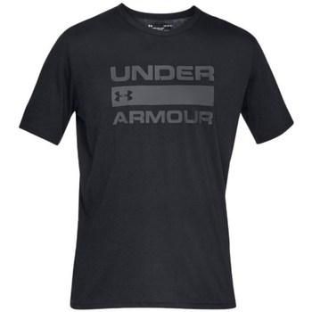 Textiel Heren T-shirts korte mouwen Under Armour Team Issue Wordmark Noir