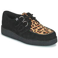 Schoenen Derby TUK LOW FLEX ROUND TOE CREEPER Zwart / Leopard