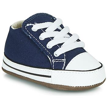 Schoenen Kinderen Hoge sneakers Converse CHUCK TAYLOR FIRST STAR CANVAS HI Blauw